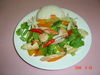 Rice Dishes with Stir-Fried Vegetable